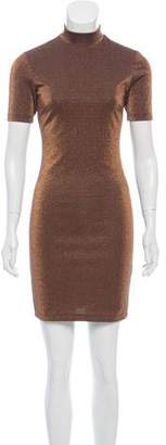 Nomia Metallic Mini Dress