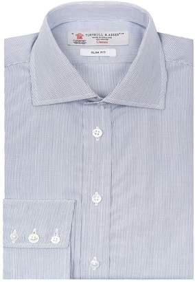 Turnbull & Asser Regent Sim Fit Micro Check Shirt