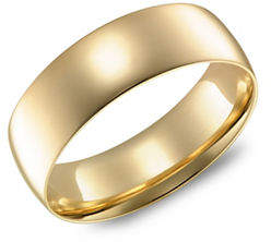 Tag Heuer FINE JEWELLERY Yellow Gold Wedding Band