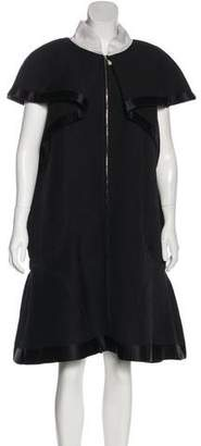 Chanel Flared Capelet Dress
