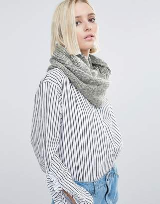 Eugenia Kim Genie by Lane Light Gray Knit Scarf