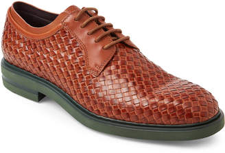 Donald J Pliner Saddle Eloi Woven Leather Oxfords