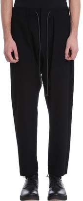 Attachment Black Wool Pants