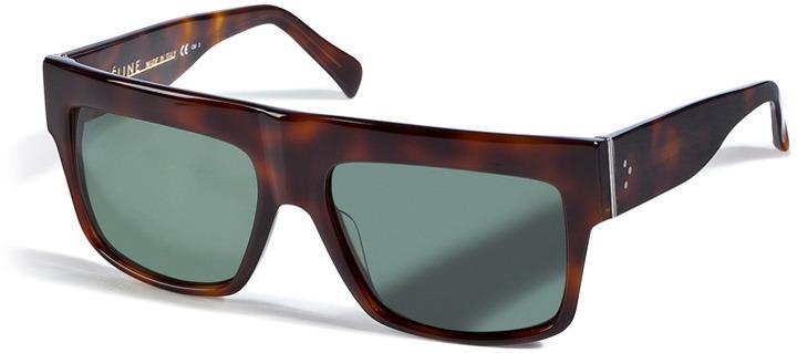 Celine ZZ-Top Sunglasses in Havana