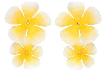 Jennifer Behr Faye floral earrings