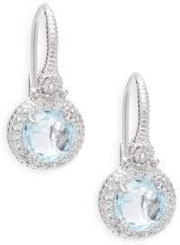 Saks Fifth Avenue Sky Blue Topaz & Sterling Silver Drop Earrings