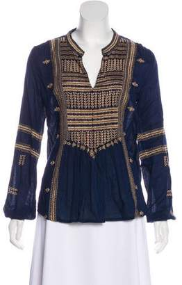 Roberta Roller Rabbit Embroidered Tunic Top