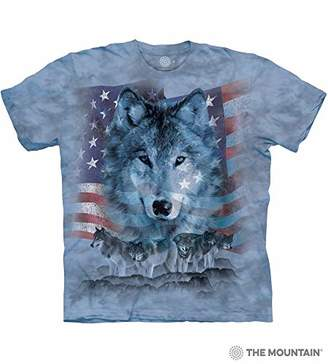 The Mountain Men's Patriotic Wolfpack T-Shirt