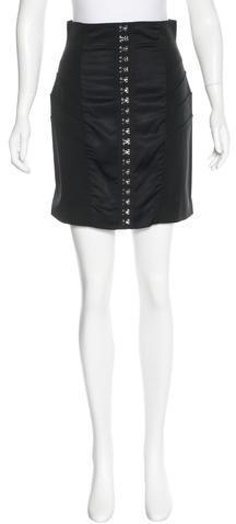 Alexander WangAlexander Wang Mid-Rise Mini Skirt