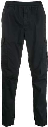 Stone Island casual trousers with logo patch