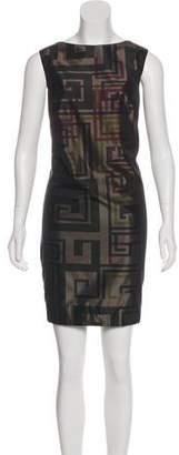 Akris Punto Sleeveless Printed Dress