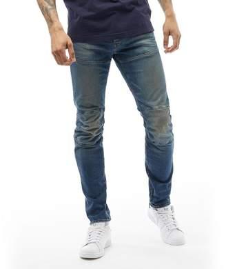 G Star G-STAR Mens 5620 Elwood 3D Slim Jeans Dark Aged