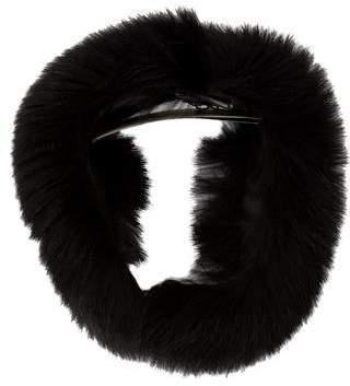 Max Mara Fur Collar Scarf w/ Tags