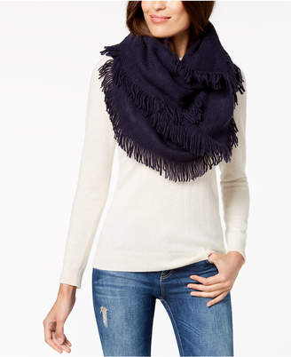 INC International Concepts I.N.C. Brushed-Knit Fringe Loop Scarf, Created for Macy's
