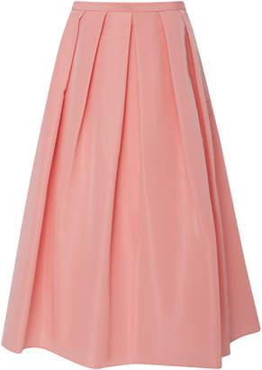 Tibi Silk Faille Skirt