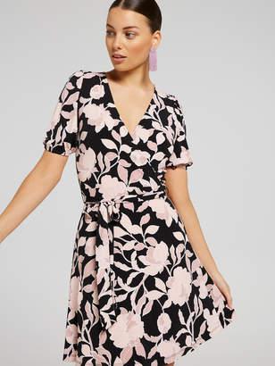 Portmans Australia Cosmetic Floral Wrap Dress