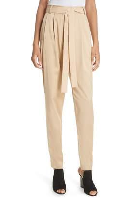 Jason Wu GREY Belted Twill Pants