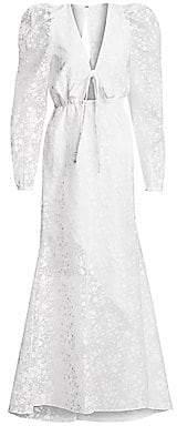 Rosie Assoulin Women's Victorian Lace A-Line Dress