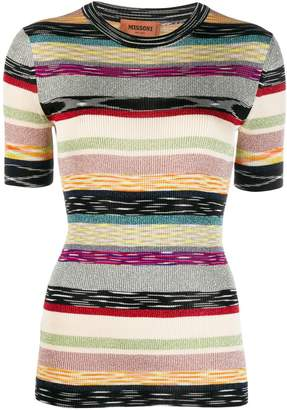 Missoni stripe print T-shirt