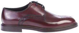 Dolce & Gabbana Dolce \u0026 Gabbana Bordeaux Derby Shoes