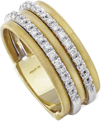Marco Bicego Goa 18K Yellow Gold 0.26 Ct. Tw. Diamond Ring