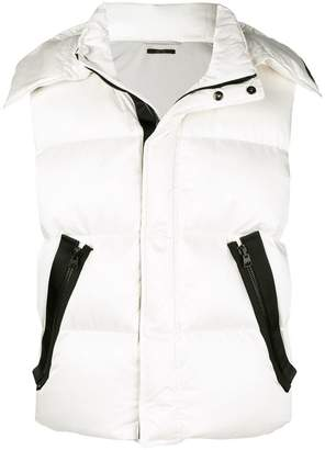 Tom Ford zip-up padded vest