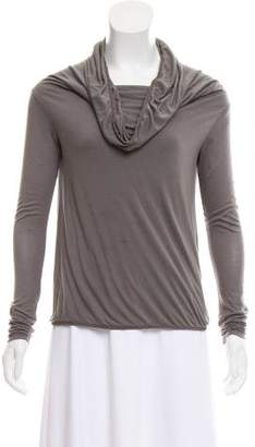The Row Cowl Neck Long Sleeve Top