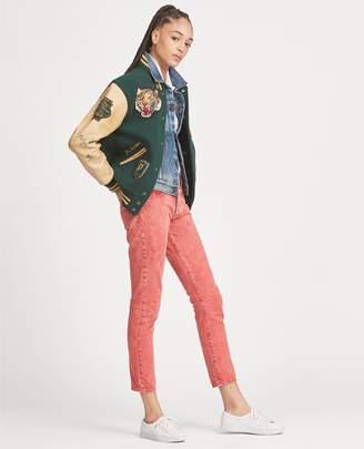 Ralph Lauren Callen High Rise Slim Jean