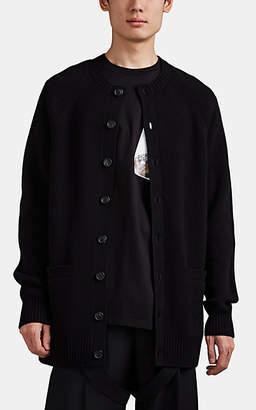 Burberry Men's Oversized Cashmere Cardigan - Black