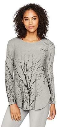 Karen Kane Women's Tree Print Sweater