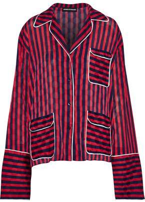 House of Holland Striped Jacquard Shirt