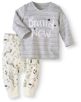 e353c81b6 Newborn Long Sleeve Pant Set - ShopStyle