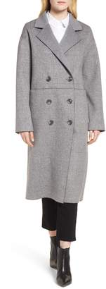 Trina Turk Amy Double Breasted Wool Coat