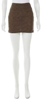 Belstaff Mini Lace Skirt
