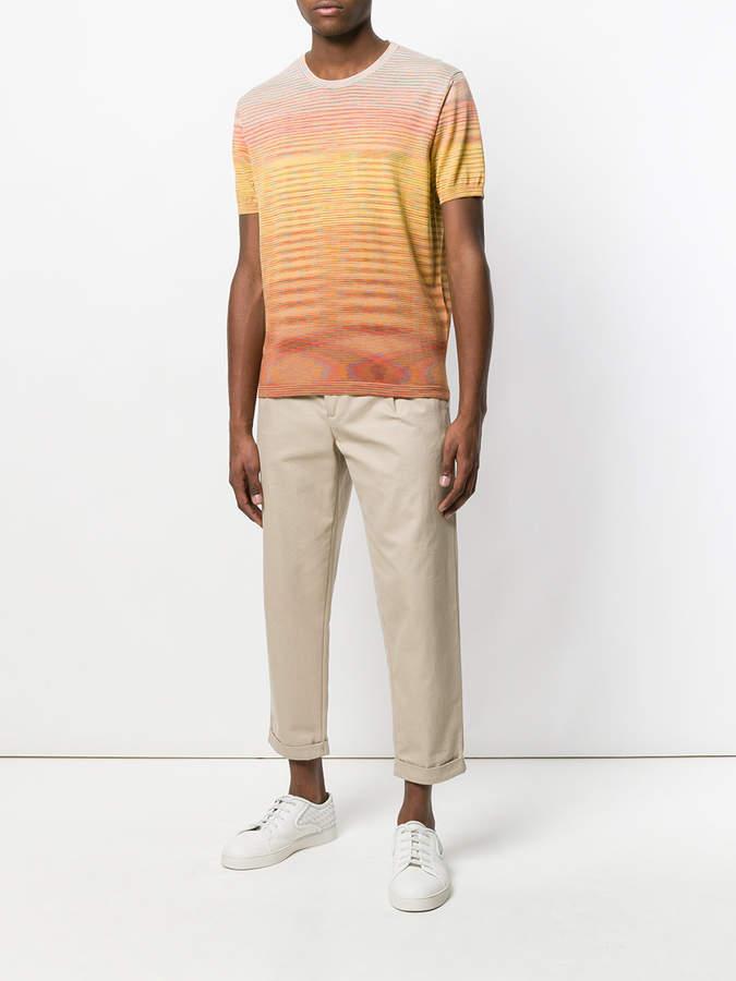 Missoni short sleeved ombré T-shirt