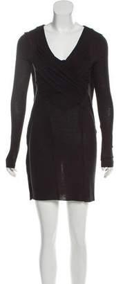 AllSaints Long Sleeve Mini Dress