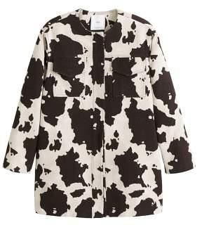 MANGO Cow print jacket