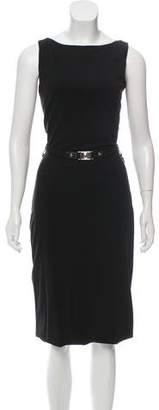 Gucci Midi Cutout Dress