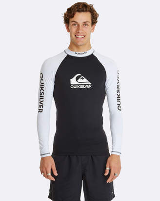 Quiksilver Mens On Tour Long Sleeve UPF 50 Rashguard
