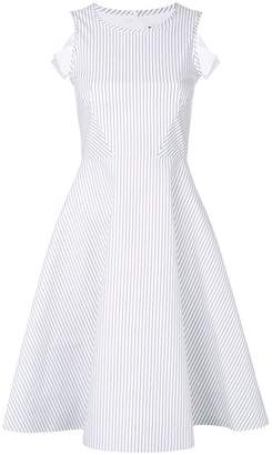 Karl Lagerfeld cut-out shoulder dress