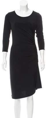 MICHAEL Michael Kors Long Sleeve Scoop Neck Dress
