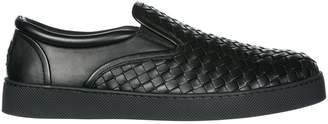 Bottega Veneta Woven Detail Loafers