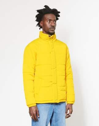 The Idle Man Puffer Jacket Yellow
