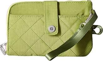 Baggallini Women's RFID Passport & Phone Wristlet