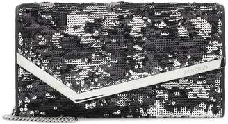 Jimmy Choo Emmie sequinned clutch