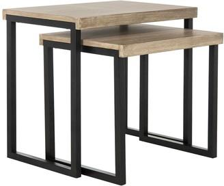 ... Safavieh Contemporary Nesting End Table 2 Piece Set
