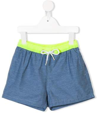 Trunks Knot contrast swim shorts