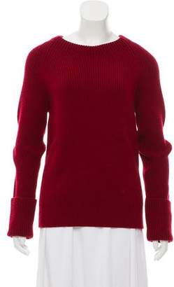 The Row Virgin Wool Knit Sweater