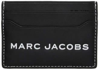 Marc Jacobs Black Logo Tag Card Holder