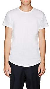 Chapter MEN'S SLUB COTTON-BLEND JERSEY T-SHIRT-WHITE SIZE L